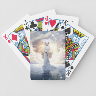 Cold Night Bicycle Playing Cards
