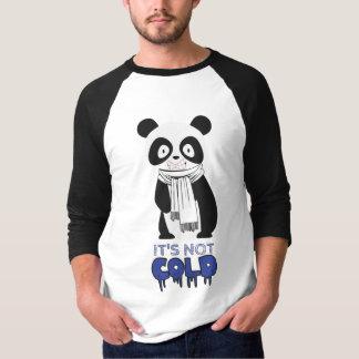 """Cold Panda"" Lifestyle Print T-Shirt"