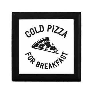 Cold Pizza for Breakfast Gift Box