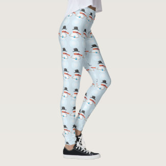 Cold Snowman Leggings