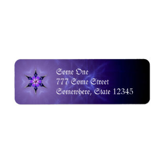 Cold Starlight Address Labels