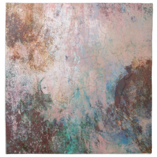Cold Stone Abstract Napkin
