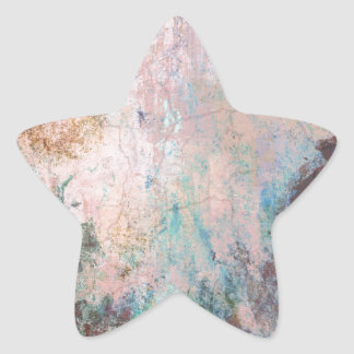 Cold Stone Abstract Star Sticker