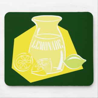 Cold Tart Lemonade Mouse Pad