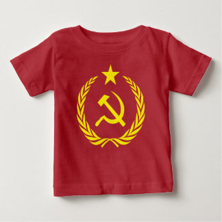 Cold War Communist Flag Baby Fine Jersey T-Shirt