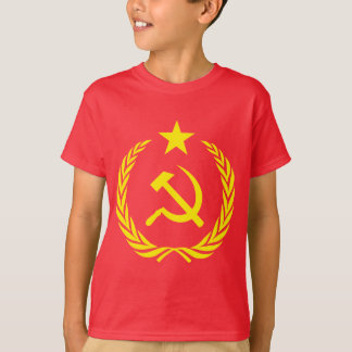 Cold War Communist Flag Kids' Hanes T-Shirt