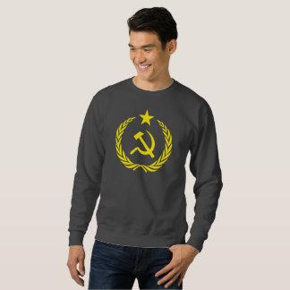 Cold War Communist Flag Men Basic Sweatshirt