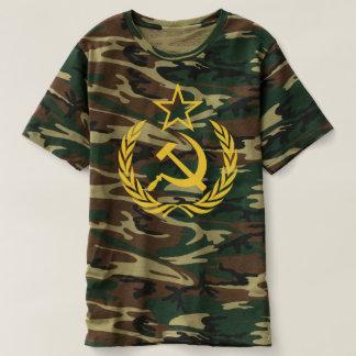 Cold War Communist Flag Men's Camouflage T-Shirt