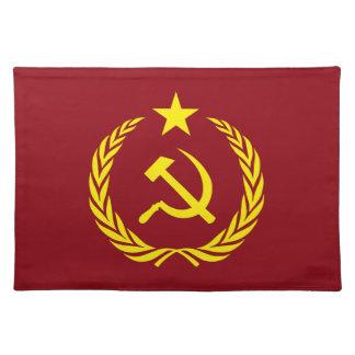 Cold War Communist Flag Placemats