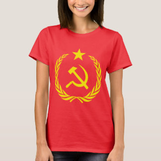 Cold War Communist Flag Women's Basic T-Shirt