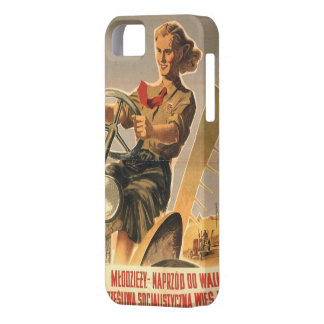 Cold war era Polish Propaganda iPhone 5 Cover