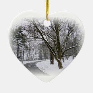 Cold Winter Day Ornament