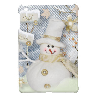 Cold Winter Snowman Case For The iPad Mini