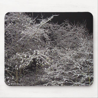 Cold Winter's Night Mousepad