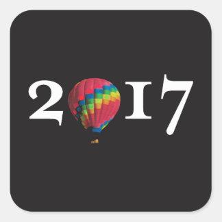 coldplay 2017 square sticker