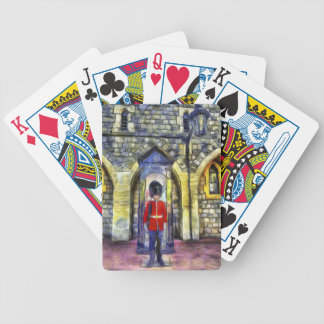 Coldstream Guard Art Bicycle Playing Cards
