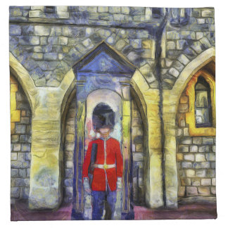 Coldstream Guard Art Napkin