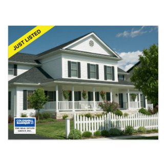 Coldwell Banker Postcard: JUST LISTED Postcard