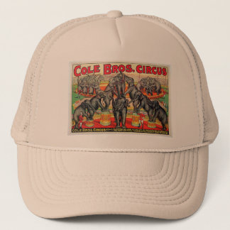 Cole Bros. Circus Trucker Hat