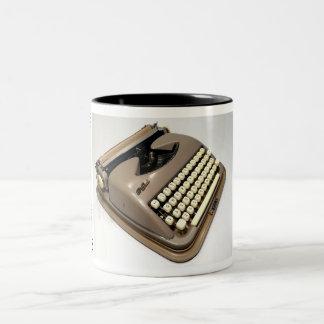 Cole Steel typewriter Two-Tone Mug