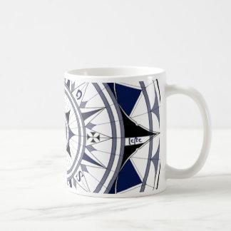 Colecção Rosa dos Ventos Classic White Coffee Mug
