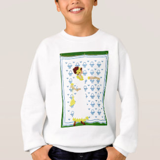 Coles Phillips Fadeaway - Woman at the County Fair Sweatshirt