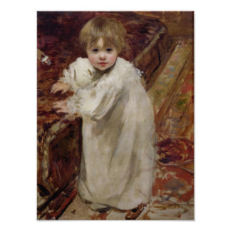 Colette's First Steps, 1895 Poster