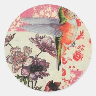 Colibri Classic Round Sticker