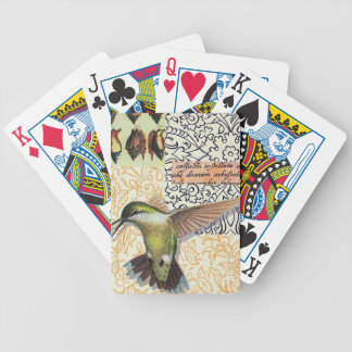 Colibri - Letters of poker Bicycle Playing Cards