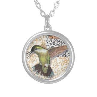 Colibri Silver Plated Necklace