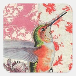 Colibri Square Sticker