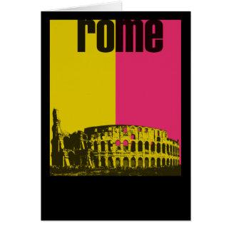 Coliseum in Rome Card