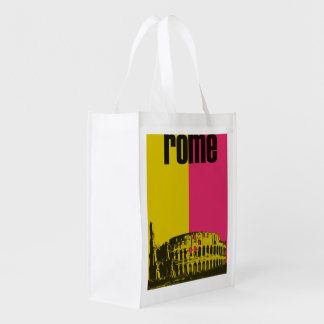 Coliseum in Rome Reusable Grocery Bag