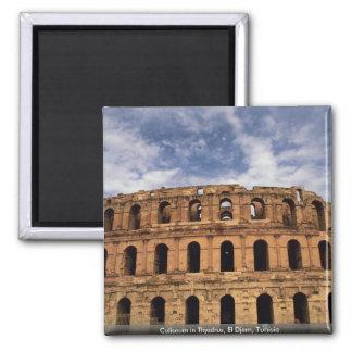 Coliseum in Thysdrus, El Djem, Tunisia Magnet
