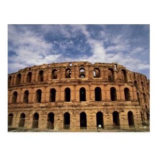 Coliseum in Thysdrus, El Djem, Tunisia Postcard