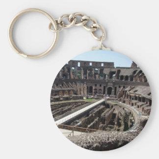Coliseum Basic Round Button Key Ring