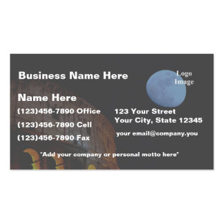 Coliseum of Rome in Moonlight Business Card