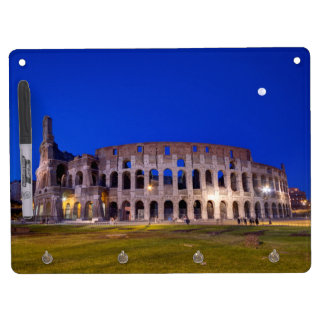Coliseum, Roma, Italy Dry Erase Board With Key Ring Holder