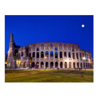 Coliseum, Roma, Italy Postcard