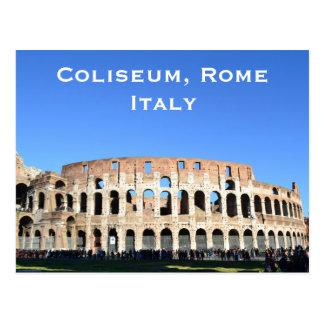 Coliseum, Rome, Italy Vintage Travel Tourism Add Postcard