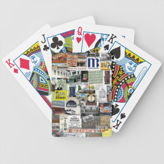 Collage 2013 bicycle playing cards