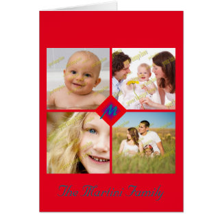 Collage Collection Photo Templates Card
