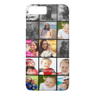 Collage Create Your Own Personalised Custom iPhone 7 Plus Case