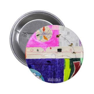 collage_flower_button 6 cm round badge