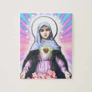 Collage Lady Mary - Gloria Sánchez Jigsaw Puzzle