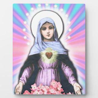 Collage Lady Mary - Gloria Sánchez Plaque