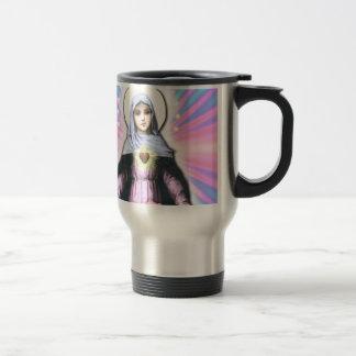 Collage Lady Mary - Gloria Sánchez Travel Mug