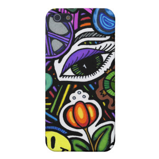 Collage of Bizarre Speck Case Case For The iPhone 5