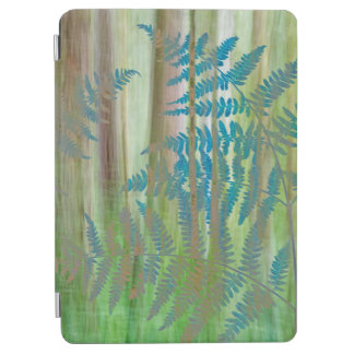 Collage of Bracken Ferns and Forest | Seabeck, WA iPad Air Cover