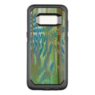 Collage of Bracken Ferns and Forest   Seabeck, WA OtterBox Commuter Samsung Galaxy S8 Case